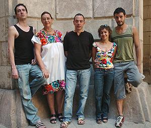 Los miembros de La Fura del Baus. (Foto: EFE)