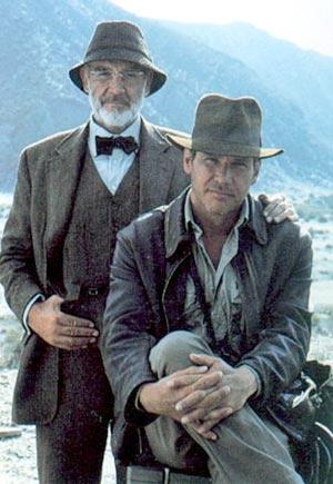 Imagen de la tercera parte de Indiana Jones. (Foto: Telecinco)