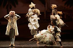 Imagen del musical 'La Revista Negra'. (Foto: Eddy Kelele)