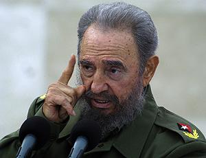 Fidel Castro, en un momento de su discurso en la ciudad de Bayamo. (Foto: EFE)