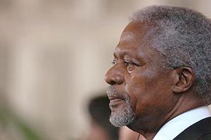 El secretario general de Naciones Unidas, Kofi Annan. (Foto: EFE)