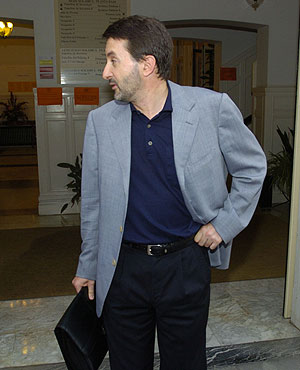 El presidente del PNV, Josu Jon Imaz, en San Sebastián. (Foto: Justy García Koch)