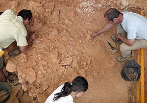 Vista de uno de los yacimientos de Atapuerca. (Foto: Israel L. Murillo))