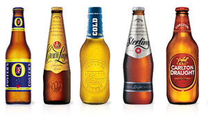 Imagen de varias cervezas de la marca Foster's. (Foto: fosters.com)