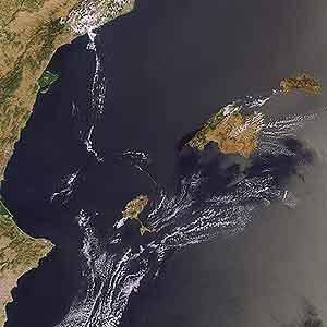 El Mediterráneo, visto desde el satélite Envisat. (Foto: ESA)