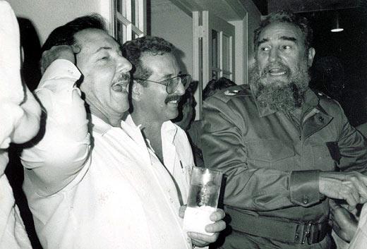 ¿El próximo presidente de Cuba? (Foto: Norberto Fuentes)