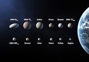 Algunos 'candidatos a planeta'. (Foto: IAU/Martin Kornmesser)