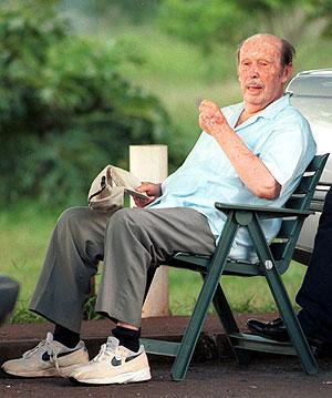 Stroessner, en una imagen de 2001. (Foto: AP)