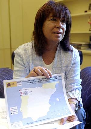 Cristina Narbona. (Foto: EFE)