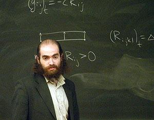 Grigory Perelman. (Foto: Frances Roberts/The Guardian)
