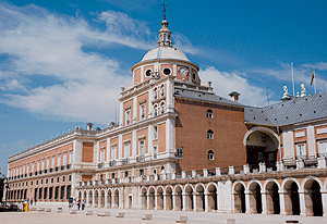 Vista del Palacio Real de Aranjuez. (Foto: Pepo Paz Saz)