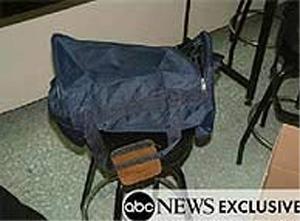 Foto de la mochila que difundió ABC News.