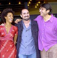 Judith Diakhate, Jorge Sánchez-Cabezudo y Carmelo Gómez (Foto: Begoña Rivas)