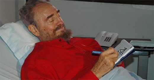 Fidel cuando era niño. ¿Un fotomontaje?