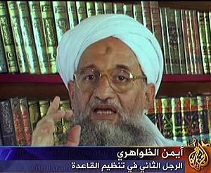 Zawahiri, en una imagen del último vídeo. (Foto: AFP)