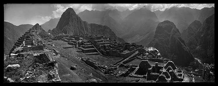 'Vistas panorámicas de Machu Picchu'.