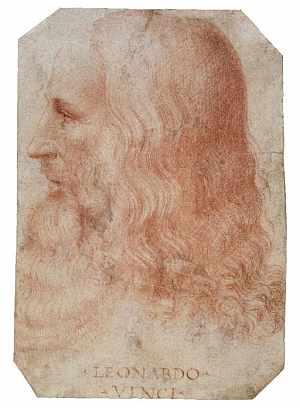 Retrato de Leonardo Da Vinci (1508), atribuido a Francesco Melzi. (Foto: EFE)