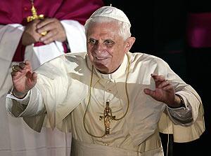 El Papa, el pasado martes en Ratisbona. (Foto: AFP)