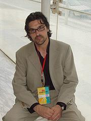Enrique Castro, coordinador de la Red de Blogs Socialistas. (Foto: S.R.)