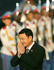 Thaksin Shinawatra, primer ministro tailandés. (Foto: AP)
