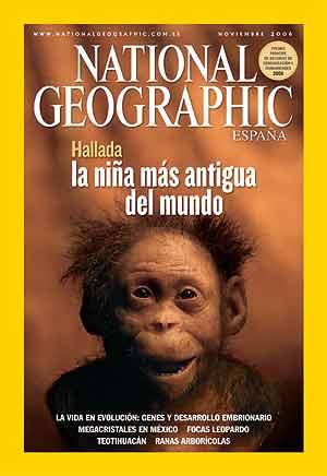 Portada de la edición en español de la revista.