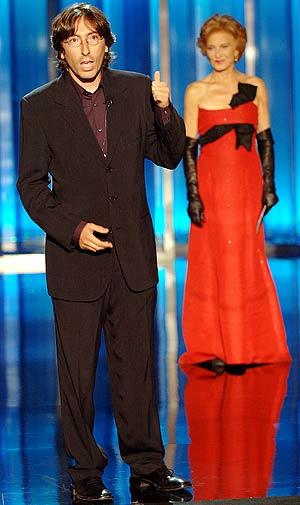 David Trueba y Marisa Paredes, durante la inauguración. (Foto: EFE)