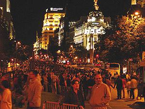 Calle de Alcalá. (Foto: Pablo Romero)