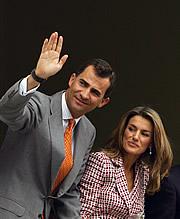 Los Príncipes de Asturias. (Foto: REUTERS)