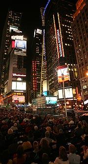 Una imagen de Times Square. (Foto: AP)