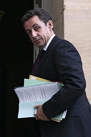 El ministro del Interior francés, Nicolas Sarkozy. (Foto: AFP)