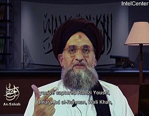 Escena del vídeo de Al Zawahiri. (Foto: AP)