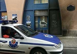 La sucursal del BBVA atacada en Ondarroa. (Foto: EFE)