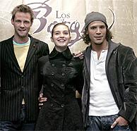 Eloy Azorín, María Valverde y Sergio Peris-Mencheta (Foto: EFE)