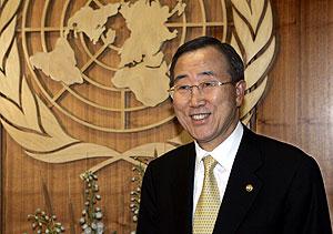 Ban Ki-Moon en la sede la ONU. (Foto: AP)