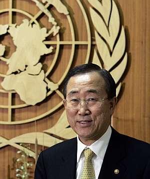 Ban Ki-Moon. (Foto: AFP)