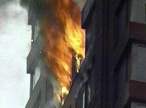 Imagen del edificio siniestrado. (Foto: AP) MÁS FOTOS