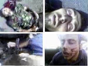 El reportaje se acompaña de imágenes de torturas extraídas de un vídeo. (Foto: AP)