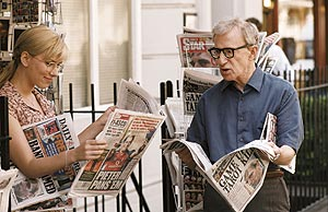 Scarlett Johansson y Woody Allen.