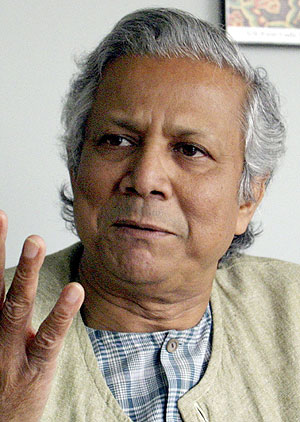 Mohamed Yunus, director del Banco Grameen. (Foto: REUTERS)