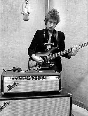 Dylan graba sus temas de 1965. (Foto: The Morgan Library & Museum)