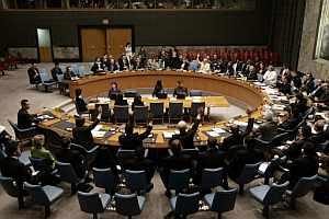El Consejo de Seguridad, durante la votación (Foto: AFP)