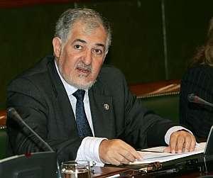 El fiscal general del Estado, en su comparecencia en el Senado. (Foto: EFE)