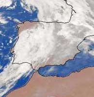 Fotografía del Meteosat.