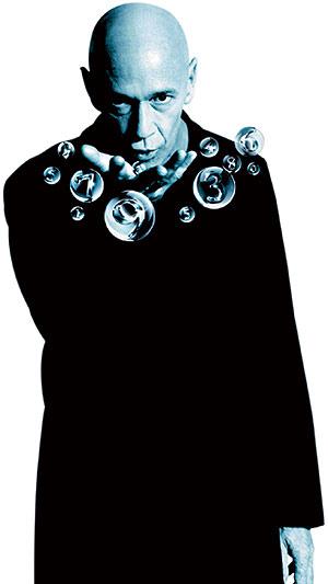 Clive Arrindell, caracterizado como 'el calvo' de la Lotería.