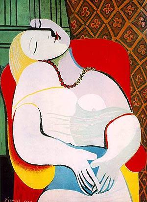 'Le rêve', pintado por Picasso en 1932.