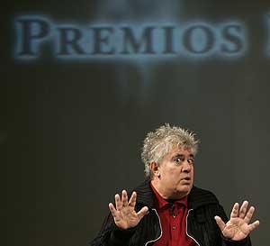 Pedro Almodóvar, en Oviedo. (Foto: EFE)
