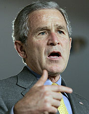 George W. Bush. (Foto: AP)