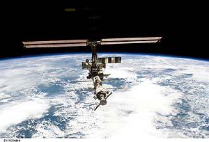 La ISS es el proyecto de cooperación internacional más eficaz. (Foto: NASA)