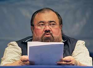 El presidente del Consejo Supremo Electoral, Roberto Rivas. (Foto: AFP)