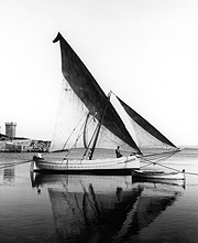 El laud mallorquin 'Lacaze Duthiers', uno de los primeros barcos usados por el IEO para estudiar el mar. (Foto: IEO)